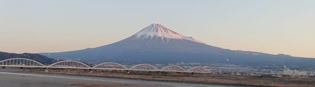 Fuji River and Mt. Fuji